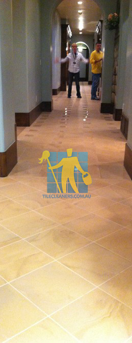 traditional entry with large porcelain tiles were laid in a basketweave pattern Canberra